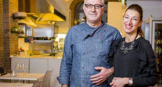 La Tognazza e i suoi vini nella cucina dello chef Guido Mascellani
