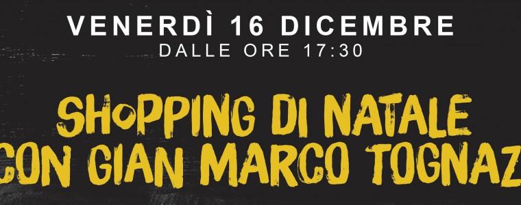 Pomeriggio di Shopping con Gian Marco Tognazzi